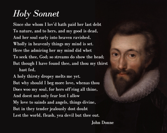 English Sonnet by John Donne